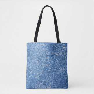 Abstract Art Blue Texture Design Tote Bag