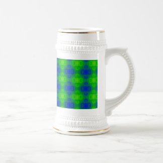 Abstract Art Blur Beer Steins
