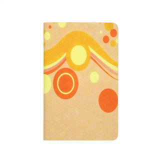 Abstract Art Brown Background Yellow And Orange Ci Journal