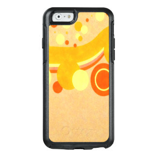 Abstract Art Brown Background Yellow And Orange Ci OtterBox iPhone 6/6s Case