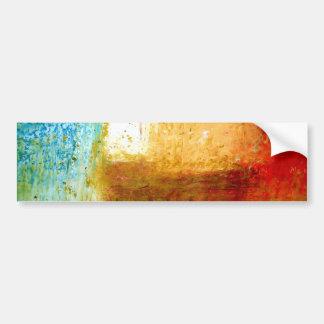 Abstract Art Bumper Sticker