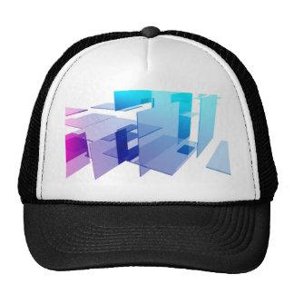 Abstract art cap