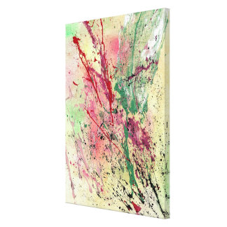 Abstract Art - Champagne Canvas Print