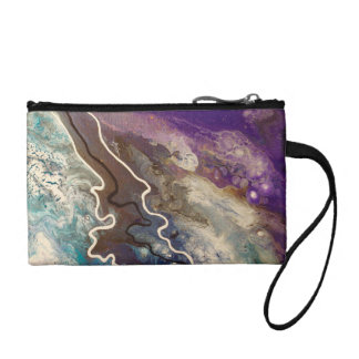 Abstract Art Coin Clutch