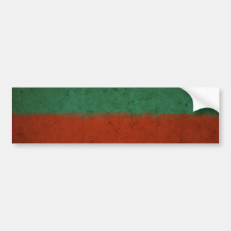 Abstract Art Color Fields Red Green Blue Grunge Bumper Stickers