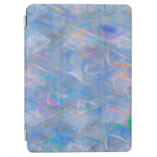 Abstract Art Colored Triangles iPad Air Cover