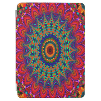 Abstract Art Colorful Kaleidoscope iPad Air Cover