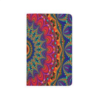 Abstract Art Colorful Kaleidoscope Journal