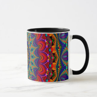 Abstract Art Colorful Kaleidoscope Mug