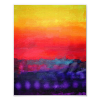 Abstract Art Colorful Modern Painting Photo Art