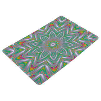 Abstract Art Concentric Design Floor Mat