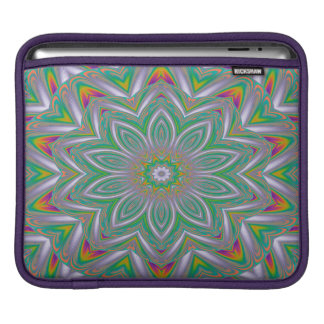 Abstract Art Concentric Design iPad Sleeve