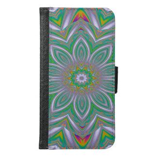 Abstract Art Concentric Design Samsung Galaxy S6 Wallet Case