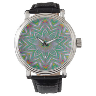 Abstract Art Concentric Design Watch