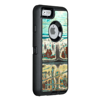 Abstract art crackle surface and design OtterBox iPhone 6/6s case