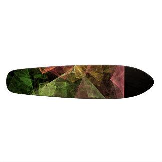 Abstract Art Cubic Space Skateboard Decks