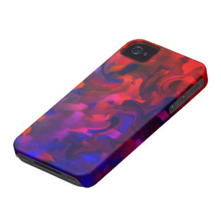 Abstract Art Design Number 1 iPhone 4 Cover