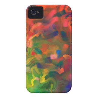 Abstract Art Design Number 2 iPhone 4 Covers