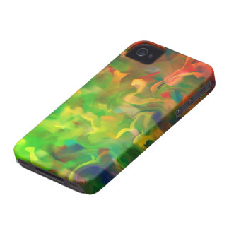 Abstract Art Design Number 3 iPhone 4 Case-Mate Cases