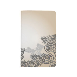 Abstract Art Doodles Background Journal