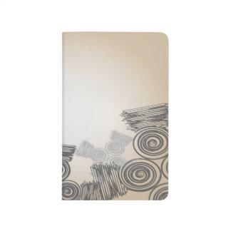 Abstract Art Doodles Background Journals
