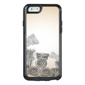 Abstract Art Doodles Background OtterBox iPhone 6/6s Case