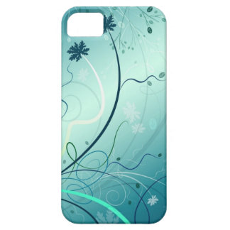 Abstract Art ( Falling Winter )  Iphone 4 Case