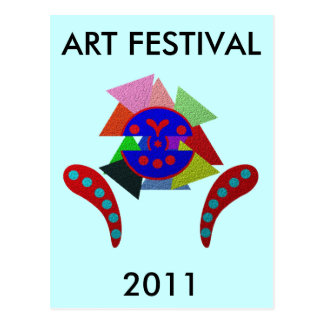 ABSTRACT ART FESTIVAL 2011 POST CARDS