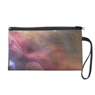 Abstract Art Found in the Orion Nebula Wristlet Clutches