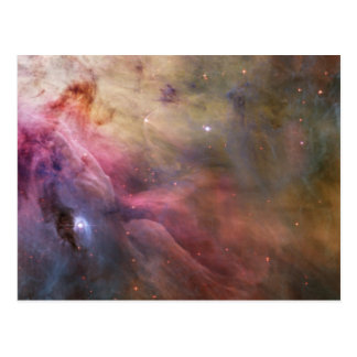 Abstract Art Found in the Orion Nebula Postcard
