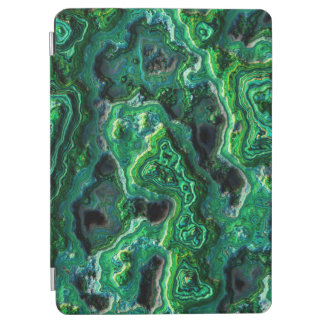 Abstract Art Green Pattern iPad Air Cover