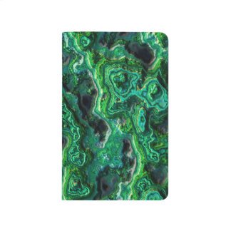 Abstract Art Green Pattern Journal