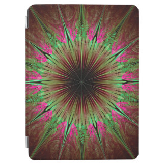 Abstract Art Green Star iPad Air Cover