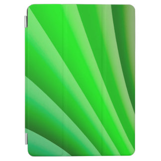 Abstract Art Green Wave iPad Air Cover
