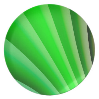 Abstract Art Green Wave Plate