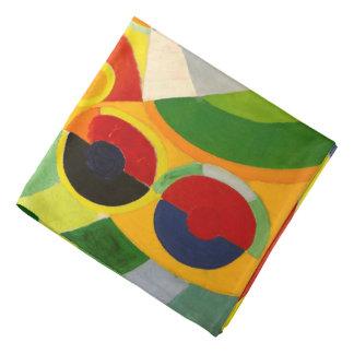 abstract art head kerchief