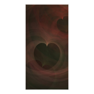 Abstract Art Hearts Photo Cards