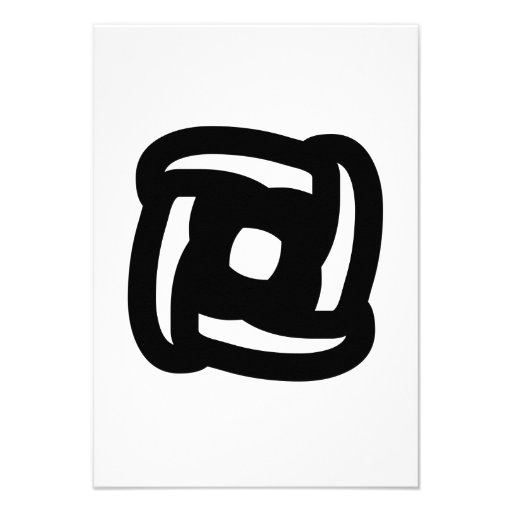 Abstract Art Custom Invite