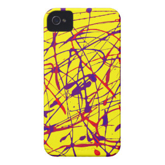 Abstract art iPhone case iPhone 4 Cases