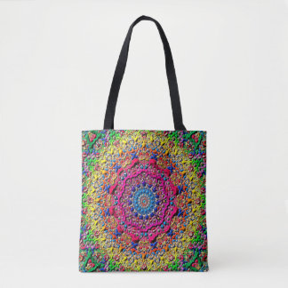 Abstract Art Lilac Light Pattern Tote Bag