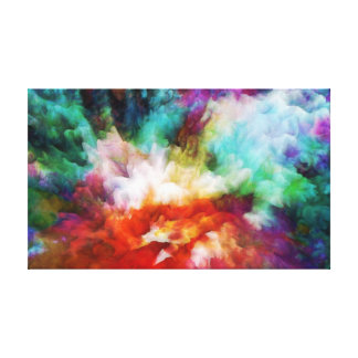 Abstract art, Liquid colors, artwork on canvas Gallery Wrapped Canvas