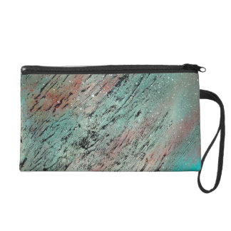 Abstract Art - Lost and Found Wristlet Clutch
