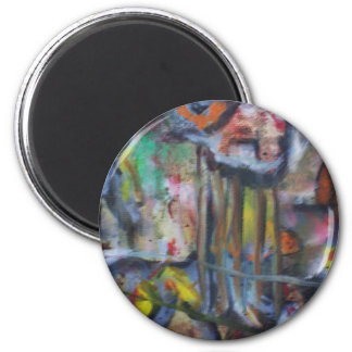 Abstract Art Magnet by ValAries