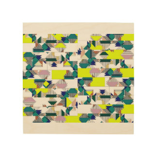 Abstract art, mimic the tones of Africa Wood Print