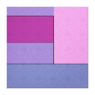Abstract Art Modern Geometric Color Fields Retro Stretched Canvas Prints
