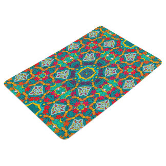 Abstract Art Mosaic Pattern Floor Mat
