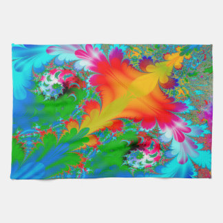 Abstract Art  Multi Color Background Tea Towel