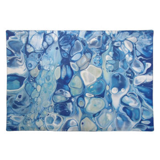 Abstract Art on 100% Woven Cotton Placemat
