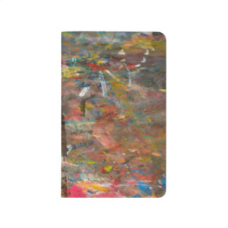 Abstract Art Paint Dab Colorful Journal