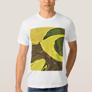 Abstract art painting is wearable art t-shirts